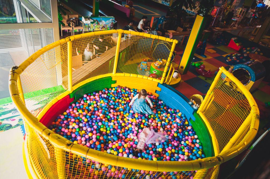 Balónkový bazének - obrázek
