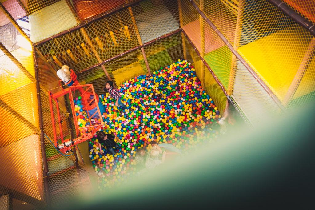 Koutek s balónky - obrázek